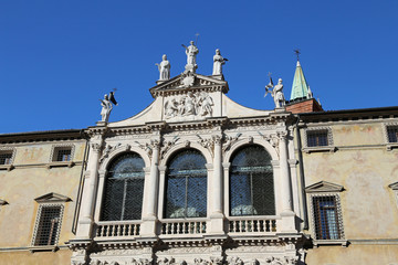 San vincenzo Church in the city of vicenza