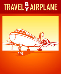 Travel by airplane