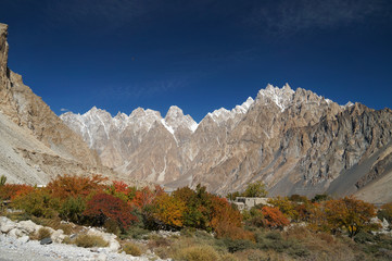High mountain at Pasu, Northern Pakistan