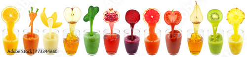 collection juices - 73344660