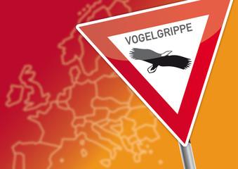 Achtung Vogelgrippe