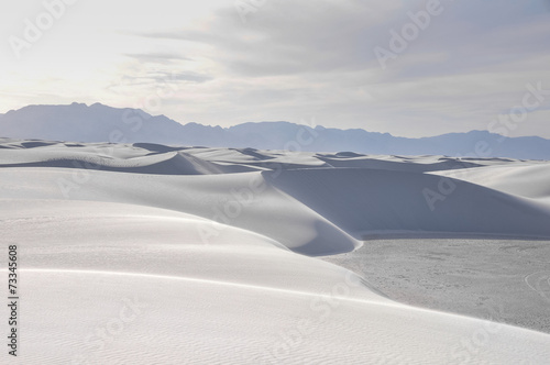 Fotobehang Natuur Park White Sands National Monument, New Mexico (USA)