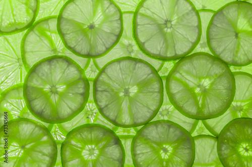 Naklejka Lime Background