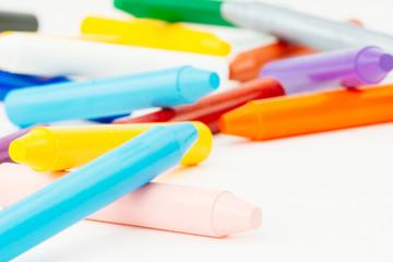 Buntstifte, Stifte, Wachsmalstifte