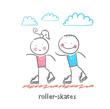 roller-skates - 73348074
