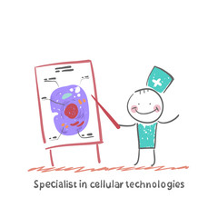 Specialist in cellular technologies speaks cells