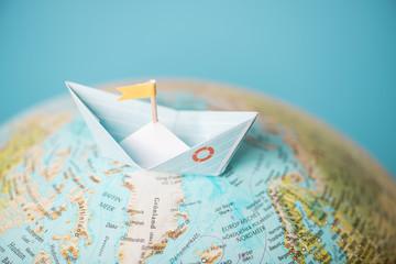 Mit Segelboot um die Welt