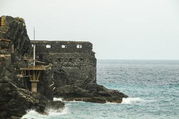 Ancient Old Rock Castle