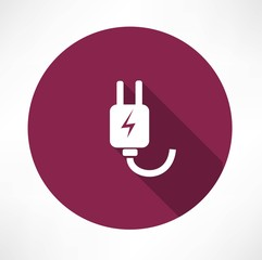 electricity, piug icon