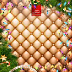 Decorations for Christmas holidays. EPS 10
