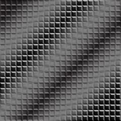 Diagonal mosaic grey pattern.
