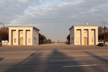 Пискаревское мемориальное кладбище. Санкт-Петербург