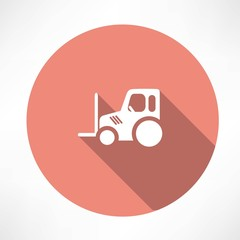tractor pallet icon