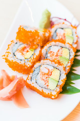 California roll sushi maki