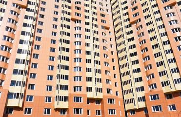 Urban house or building, facade