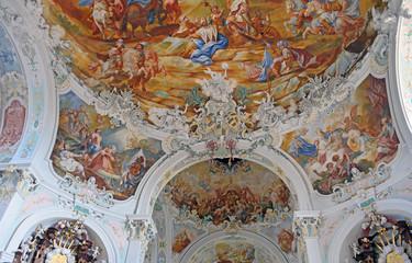 Chorkuppel der Pfarrkirche St.Katharina Wolfegg