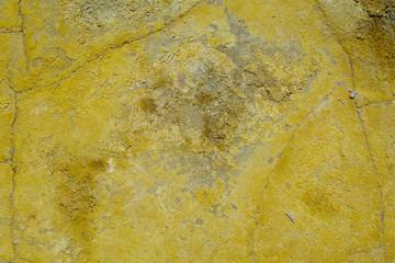 Вулканическая порода. Сера