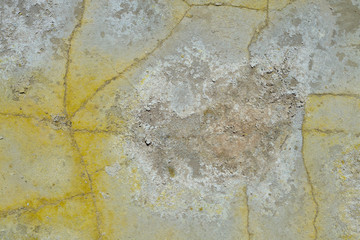 Вулканическая порода кратера Стефанос