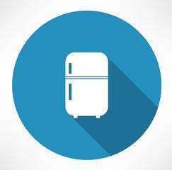 retro refrigerator icon
