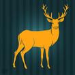 Deer silhouette - 73353068
