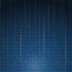 Blue Background from colored dotted. Vector.