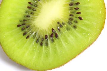 Kiwi Scheibe isoliert