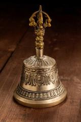 Tibetan buddhist ceremonial religious bell