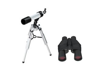 天体望遠鏡と双眼鏡