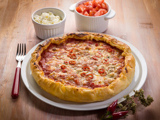 french pastry pizza
