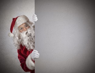 Santa Claus billboard