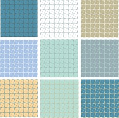 vector seamless background in several colors