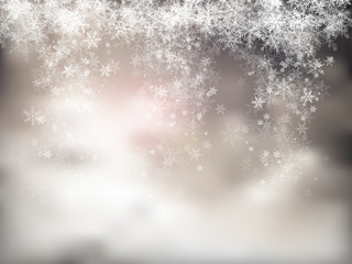 Snowy Background