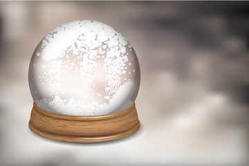 Customizable Snowdome
