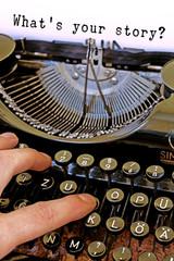 What's your story, Alte Schreibmaschine