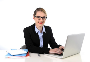young businesswoman working happy success at work concept