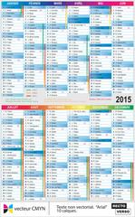 calendrier 2015 hauteur