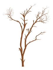 Dead Tree Vector Shape Design