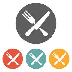 fork knife icon