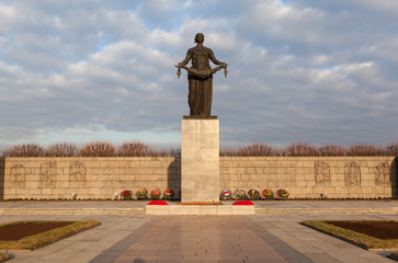 """Санкт-Петербург. Монумент """"Родина-Мать""""."""