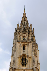Gothic Cathedral in Oviedo, Spain