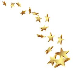 Sterne, Goldsterne, goldene Sterne, Sternschnuppe, golden, Star