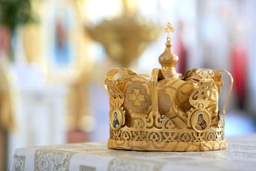 Orthodox crown.
