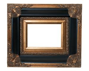 Black and Gold Ornate Frame