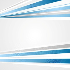 Bright abstract tech corporate design