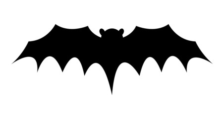 Dracula Bat Flying Shape