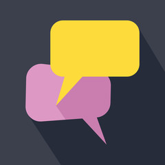 Speak bubbles icon