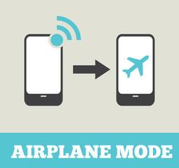 Airplane mode - flight mode