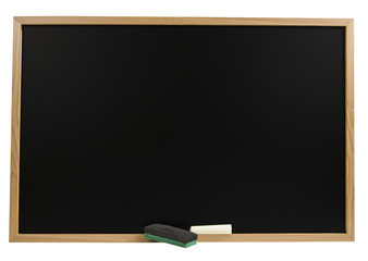 Chalk Board With Chalk & Eraser
