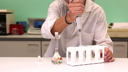 Chemical experiment lab