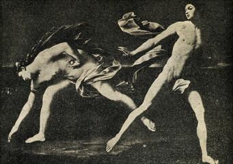 Atalanta and Hippomenes (Guido Reni,1612, Prado)